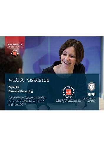 9781472744548: ACCA F7 Financial Reporting: Passcards