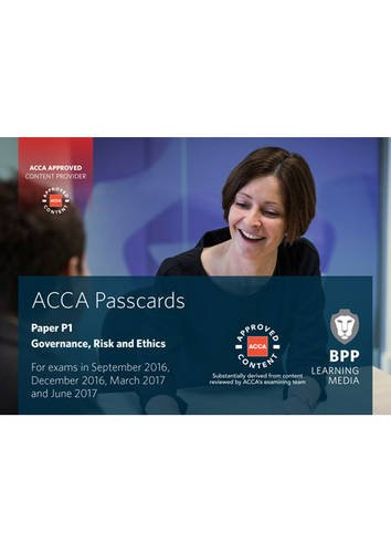 9781472744579: ACCA P1 Governance, Risk and Ethics (Passcards)