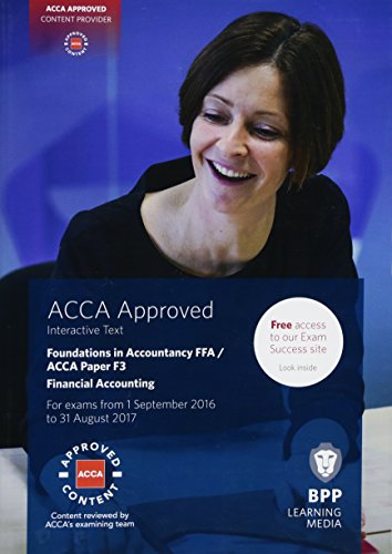 9781472745903: FIA Foundations of Financial Accounting FFA (ACCA F3): Interactive Text