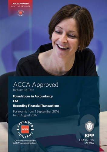 9781472746108: FIA Recording Financial Transactions FA1: Interactive Text