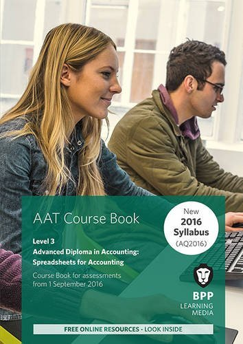 9781472748171: AAT Spreadsheets for Accounting: Coursebook