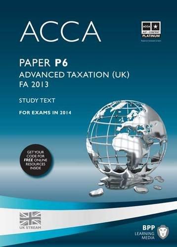 9781472753038: ACCA P6 Advanced Taxation FA2013: Study Text
