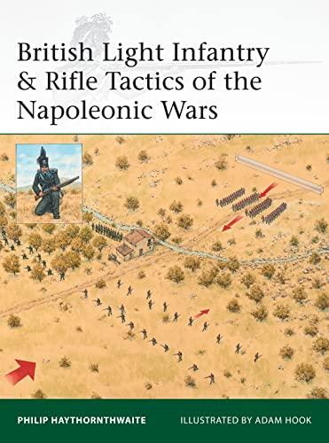 9781472816061: British Light Infantry & Rifle Tactics of the Napoleonic Wars (Elite)
