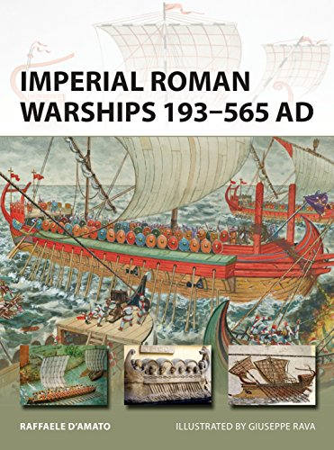 9781472818263: Imperial Roman Warships 193–565 AD (New Vanguard)
