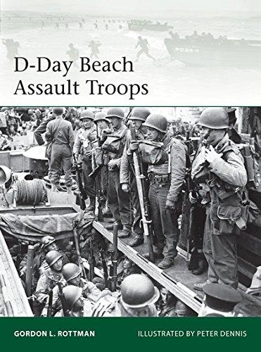 D-Day Beach Assault Troops (Paperback)