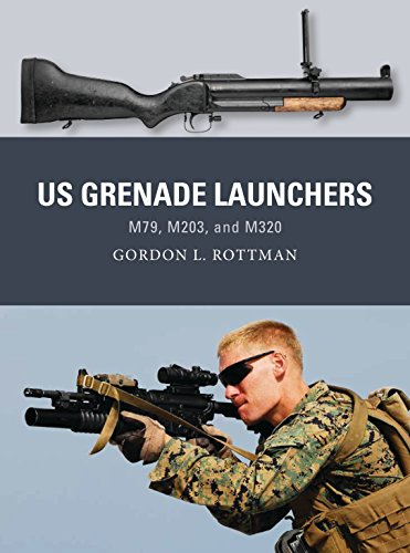 US Grenade Launchers: M79, M203, and M320 (Weapon): Gordon L. Rottman