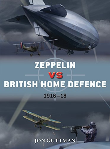 Zeppelin Vs British Home Defence 1915-18: Jon Guttman, Jim