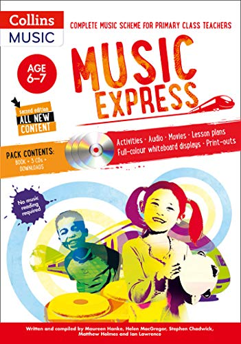 9781472900180: Music Express: Age 6-7 (Book + 3CDs + DVD-ROM): Complete Music Scheme for Primary Class Teachers