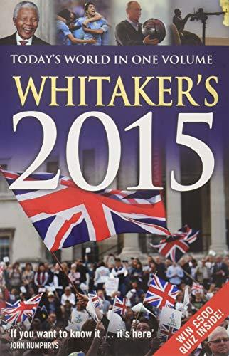 9781472909299: Whitaker's 2015