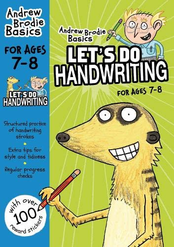 Lets Do Handwriting For Ages 7 8 (Andrew Brodie Basics): Brodie, Andrew