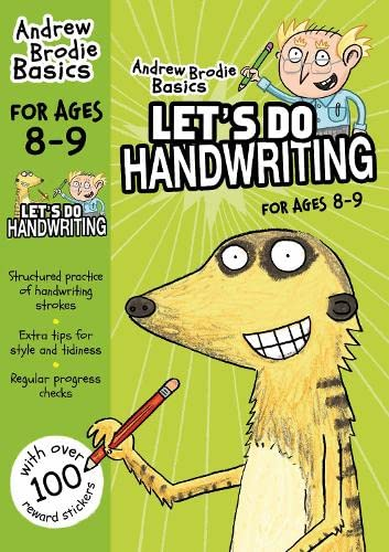 Lets Do Handwriting For Ages 8 9 (Andrew Brodie Basics): Brodie, Andrew