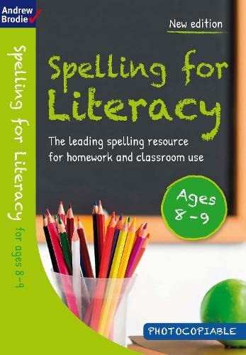 9781472916570: Spelling for Literacy for ages 8-9