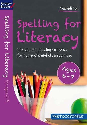 Spelling for Literacy for Ages 6-7: Brodie, Andrew