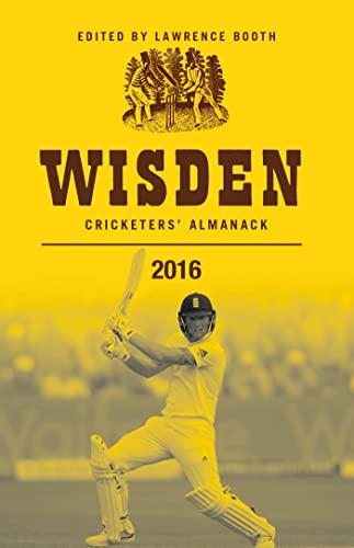 9781472924544: Wisden Cricketers' Almanack 2016