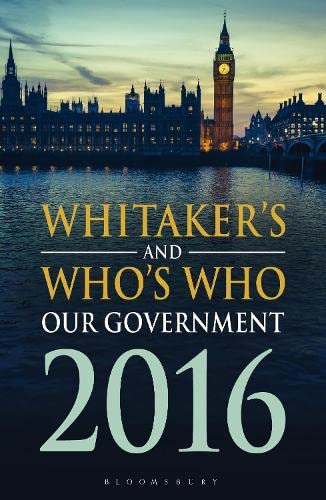 9781472927804: Whitaker's and Who's Who Our Government
