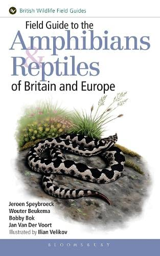 9781472935335: Field Guide to the Amphibians and Reptiles of Britain and Europe (Field Guides)