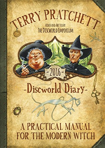 9781473208322: Terry Pratchett's Discworld 2016 Diary 2016: A Practical Manual for the Modern Witch