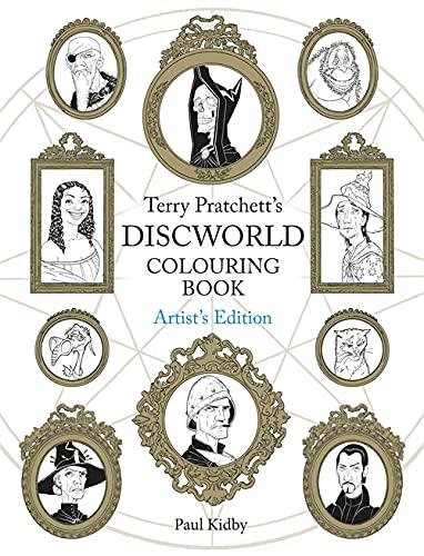9781473221048: Terry Pratchett's Discworld Colouring Book: Artist's Edition