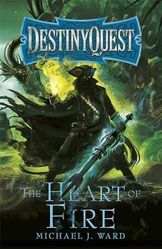 9781473223660: The Heart of Fire: DestinyQuest Book 2