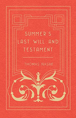 9781473309074: Summer's Last Will and Testament
