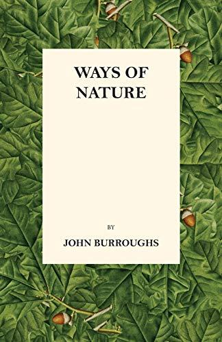 9781473335486: Ways of Nature
