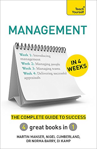 9781473605268: Management in 4 Weeks