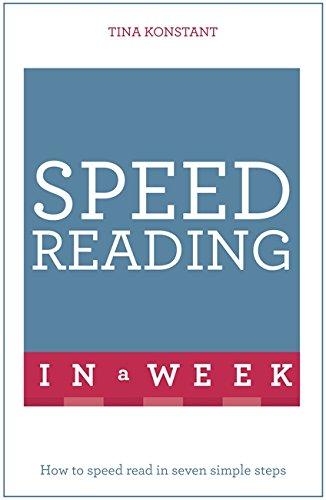 9781473609341: Speed Reading In A Week (Tys in a Week)
