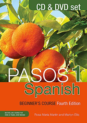 9781473610767: Pasos 1 Spanish Beginner's Course (Fourth Edition): CD and DVD set