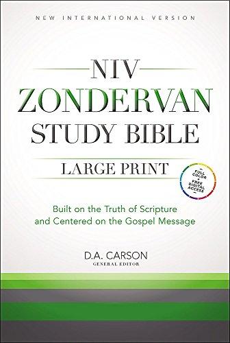 9781473615434: NIV Study Bible Large Print Hardback (New International Version)