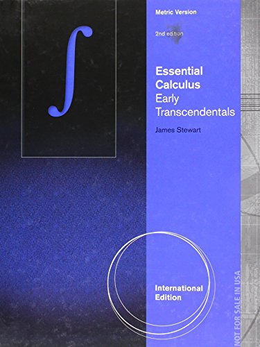9781473707504: Essential Calculus: Early Transcendentals