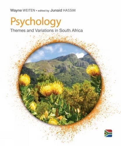 9781473709164: Psychology: Themes & Variations, A South African Perspective
