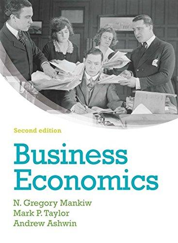 Business Economics: N. Gregory Mankiw,