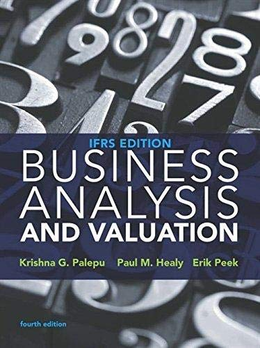 9781473722651: Business Analysis and Valuation
