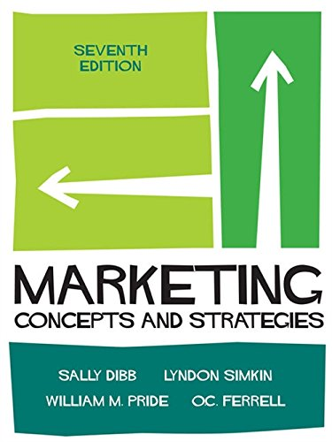 9781473725126: Marketing: Concepts and Strategies
