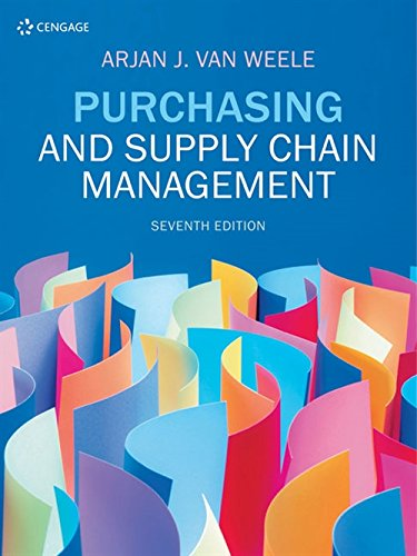 9781473749443: Purchasing and Supply Chain Management