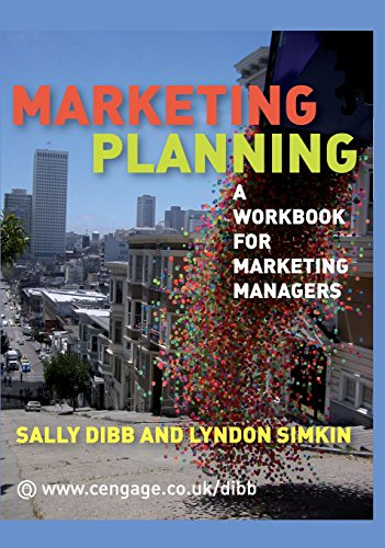 9781473754096: Marketing Planning: A Workbook for Marketing Managers