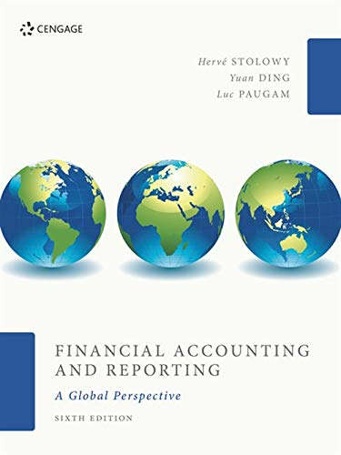 9781473767300: Financial Accounting and Reporting: A Global Perspective