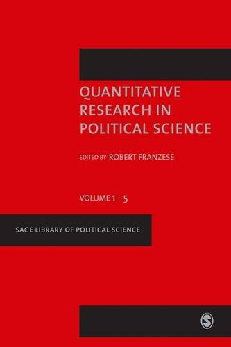 9781473902176: Quantitative Research in Political Science (SAGE Library of Political Science)