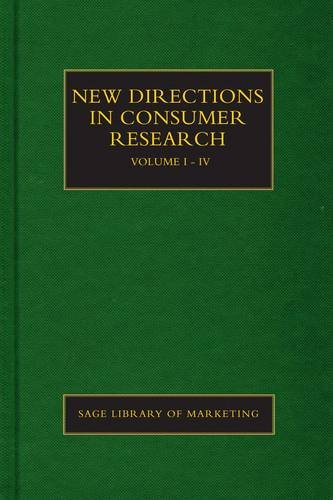 New Directions in Consumer Research (Hardback)