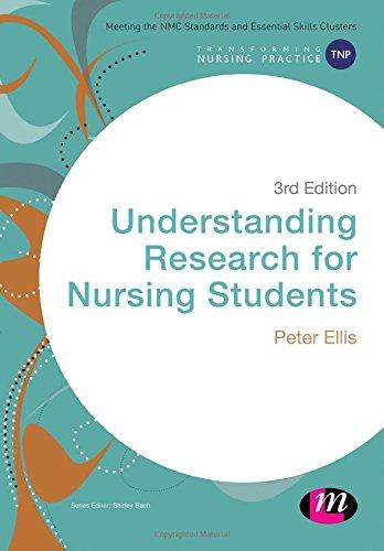 9781473919310: Understanding Research for Nursing Students (Transforming Nursing Practice Series)