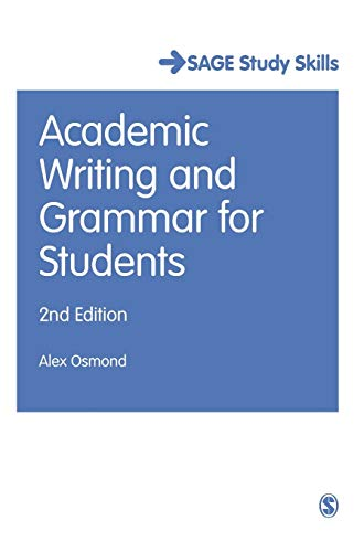 9781473919358: Academic Writing and Grammar for Students