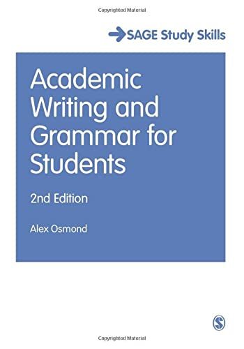9781473919365: Academic Writing and Grammar for Students