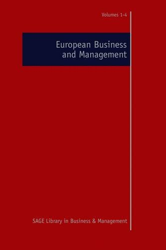 European Business and Management: Kaplan, Andreas M. (Editor)