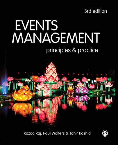 9781473948280: Events Management: Principles and Practice
