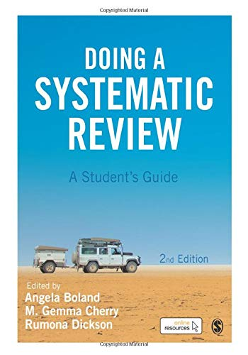 9781473967014: Doing a Systematic Review: A Student's Guide