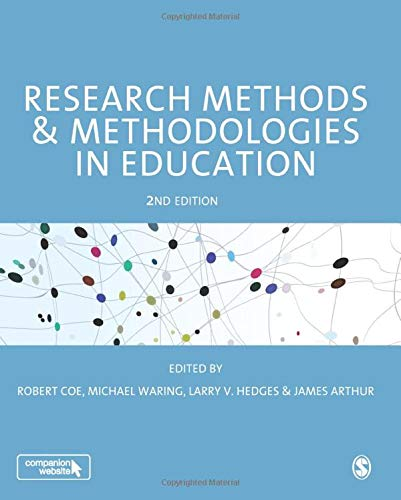 9781473969803: Research Methods and Methodologies in Education