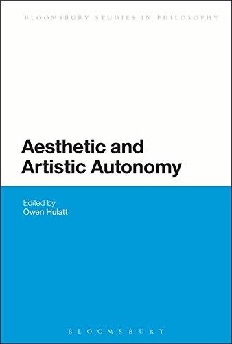 9781474222938: Aesthetic and Artistic Autonomy (Bloomsbury Studies in Philosophy)