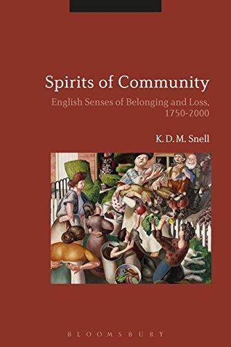 Spirits of Community (Hardcover)