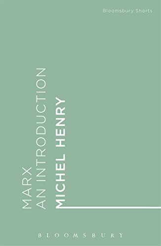 Marx : An Introduction: Michel Henry