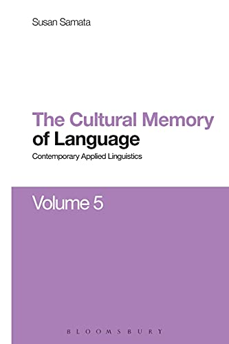 9781474288064: Cultural Memory of Language: Contemporary Applied Linguistics Volume 5